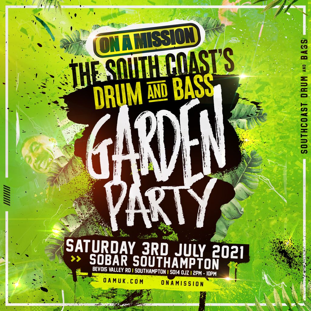ON A MISSION Garden Party , 3 July | Event in Southampton | AllEvents.in