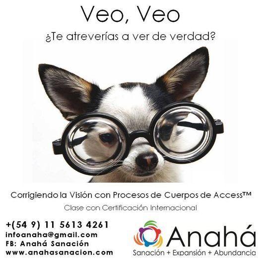 Clase Veo, Veo: Corrigiendo la Visión con Access™, Proceso Corporal Certif. Int. 15-5613-4261, 21 September