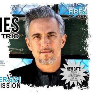 Colin James Blues Trio - November 2021