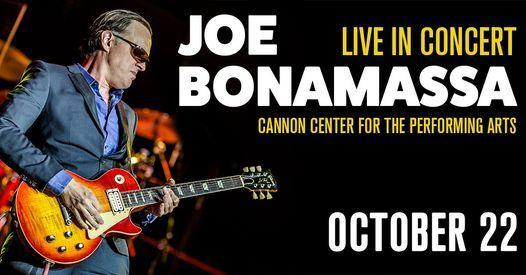 Joe Bonamassa - Live in Memphis, TN on 10/22/21, 22 October | Event in Memphis | AllEvents.in