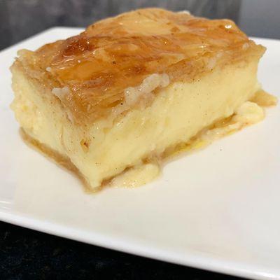 Online Learn to make Galaktoboureko - Greek custard pie