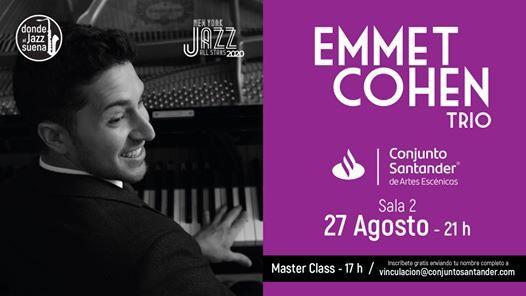 Emmet Cohen Trio (NY Jazz All Stars)