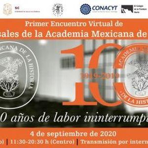 Encuentro Corresponsales de la Academia Mexicana de la Historia