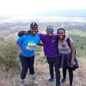 SLEEPING WARRIOR & UGALI HILL HIKE WITH NYAMA CHOMA AT KIKOPEY