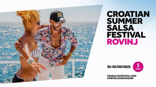 Croatian Summer Salsa Festival *official event*, 1 September | Event in Rovinj | AllEvents.in