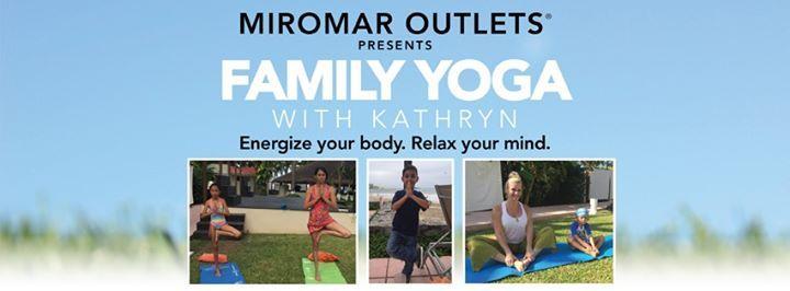 Family Yoga at Miromar Outlets, Estero