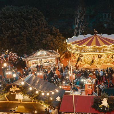 Hertford Castle Christmas Market