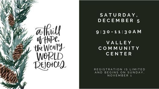 Womens Ministry 2020 Christmas Event, Valley Community Center
