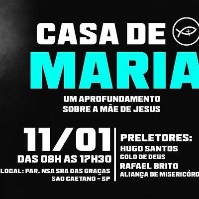 CASA DE MARIA  Um aprofundamento sobre a Me de Jesus