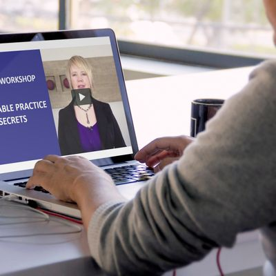 VIRTUAL (ONLINE) WORKSHOP Profitable Practice Growth Secrets For Law Firms