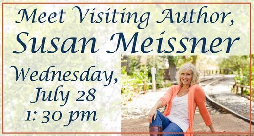Visiting Author, Susan Meissner, 28 July | Event in Anniston | AllEvents.in