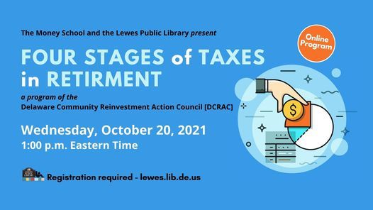 The Four Stages of Taxes in Retirement   Online Event   AllEvents.in