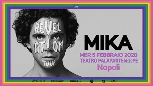 Mika at Teatro Palapartenope - Napoli