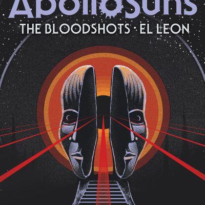 Apollo Suns live at the Park w The Blood Shots & El Leon