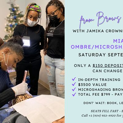 From Brows to Billions Miami OmbreMicroshading Brow Training