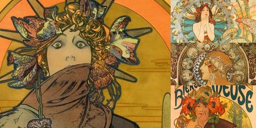 'Alphonse Mucha: The Illustrator Who Changed the Advertising World' Webinar, 20 October | Online Event | AllEvents.in