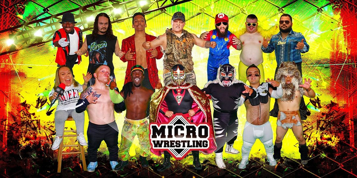 Micro Wrestling Returns: Trussville Civic Center, 10 January | Event in Trussville | AllEvents.in