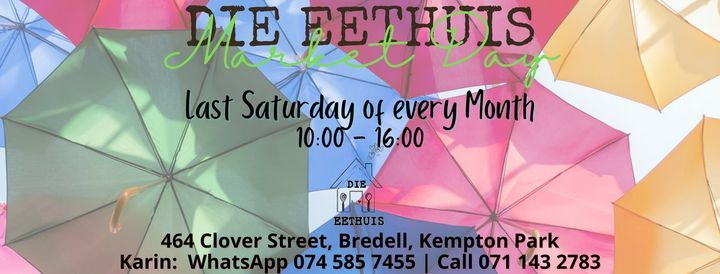 Die Eethuis Market Day   Event in Kempton Park   AllEvents.in
