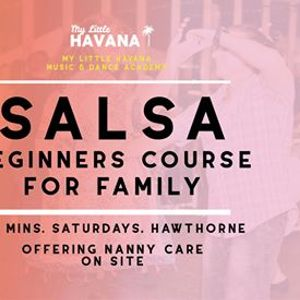 Cuban Salsa Family with Nanny Care - Saturdays 6Wks March 28