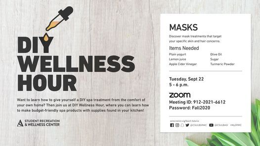 Fall 2020: DIY Wellness Hour | Event in Long Beach | AllEvents.in