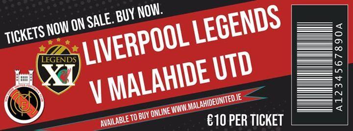 Liverpool Legends v Malahide United