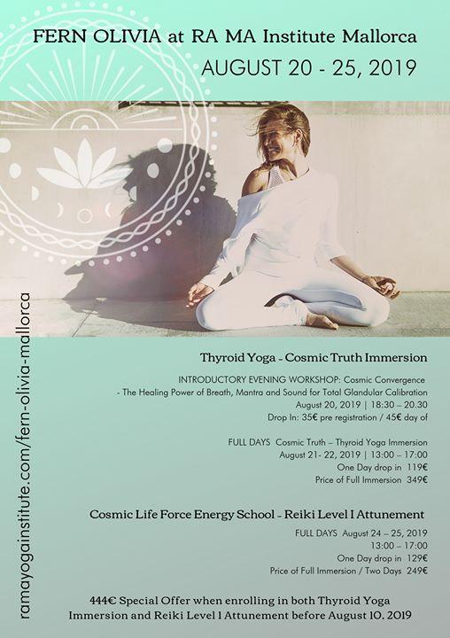 Thyroid Yoga at RA MA Institute Mallorca, Palma De Mallorca