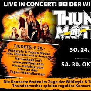 Thundermother  Linz  Wildstyle & Tattoo Messe