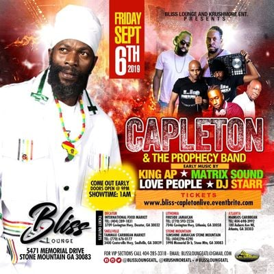 Capleton live in concert w Prophecy Band