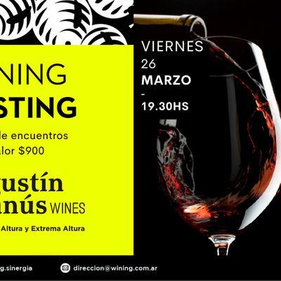 Wining Tasting AgustinLanus