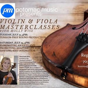 Violin & Viola Masterclass with Molly Wise