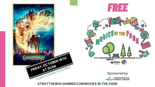 Movies in the Park: Goosebumps, 15 October | Event in Jeffersontown | AllEvents.in