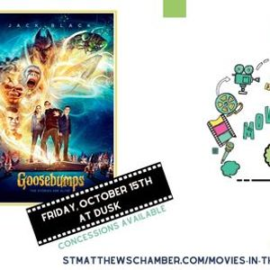 Movies in the Park Goosebumps