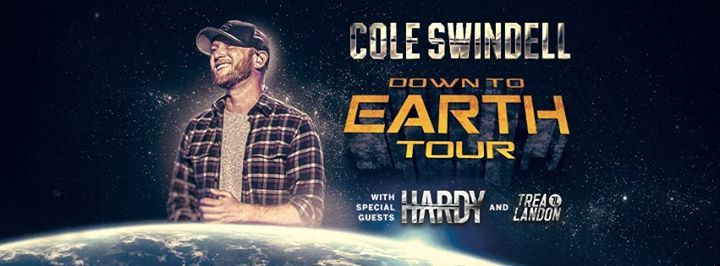 [Postponed] Cole Swindell Down To Earth Tour