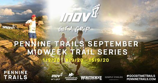 Inov-8 Pennine Trails - September Midweek Trail Series