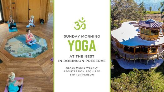 """Sunday Morning YOGA at """"The NEST"""" 