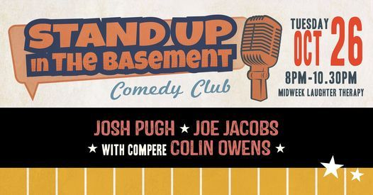 Stand Up in The Basement Comedy   Event in Southampton   AllEvents.in