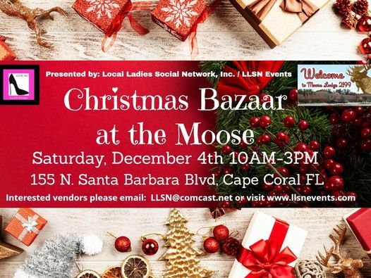 Christmas Bazaar at the Moose- Cape Coral, 4 December | Event in Cape Coral | AllEvents.in