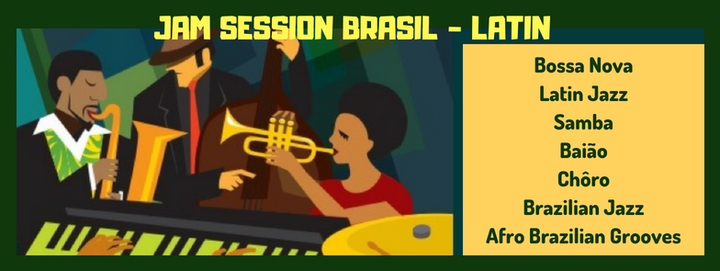 Jam Session Brasil-Latin open by Duo Brasileirinho, 21 October   Event in Brussels   AllEvents.in