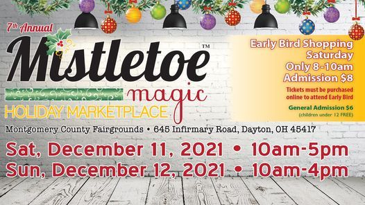 7th annual Mistletoe Magic Holiday Marketplace, 11 December   Event in Dayton   AllEvents.in