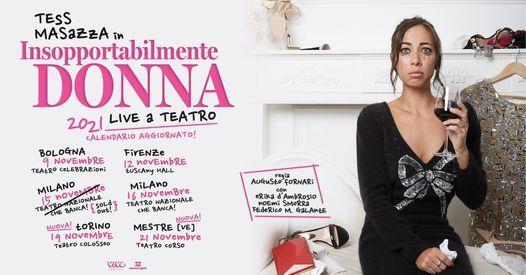 Tess Masazza a Mestre *data spostata, 6 November | Event in Mestre | AllEvents.in