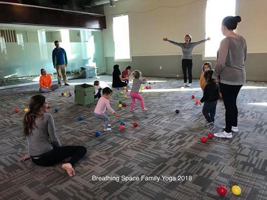 Toddler Family Yoga at Hill Center Fall 2019 Sundays