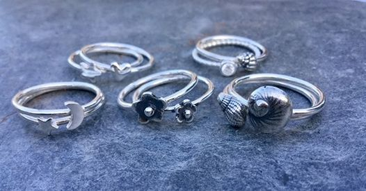 Silver Stacking Rings - Grainne Reynolds | Event in Wimborne Minster | AllEvents.in