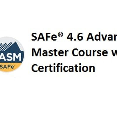 SAFe® 4 6 Advanced Scrum Master with SASM Certification 2 Days Training in  Canberra City West