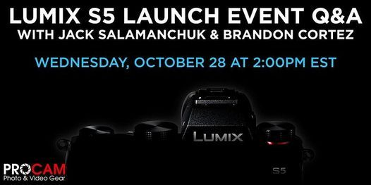 Panasonic Lumix S5 Launch Event Q&A | Online Event | AllEvents.in