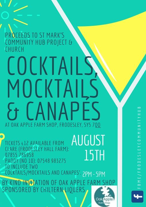 Cocktails, Mocktails and Canapes, Oak Apple Catering ...
