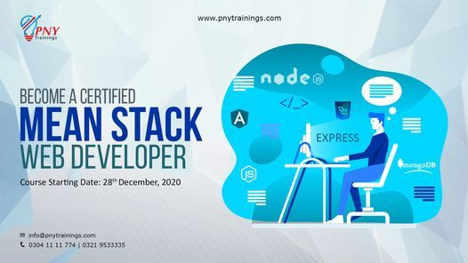 Become a Certified Mean Stack Web Developer (Arfa Tower), 28 December | Event in Gujranwala | AllEvents.in