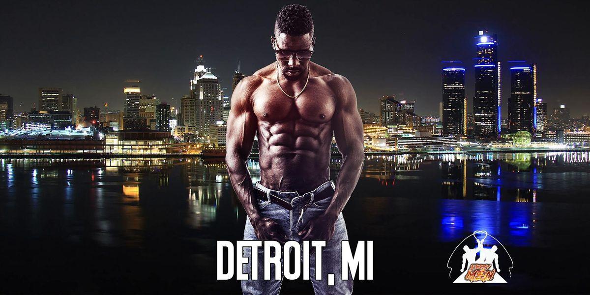 Ebony Men Black Male Revue Strip Clubs & Black Male Strippers Detroit MI 8-10PM