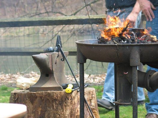 Hammerin Blacksmith Master Class at Friends of Historic