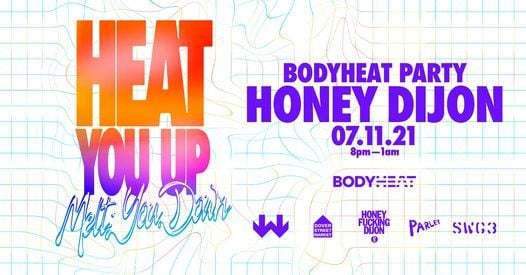 SWG3 Presents BODYHEAT with Honey Dijon, 7 November   Event in Glasgow   AllEvents.in