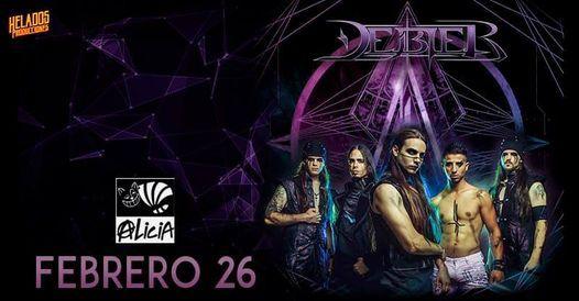Debler at Multiforo Cultural Alicia (Nueva fecha reprogramada), 26 February | Event in Naucalpan | AllEvents.in